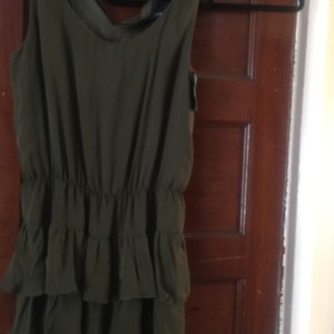 Cynthia Rowley short dress olive on Tradesy