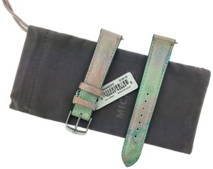 Michele MS18AA430370 Michele watch Band Size 18mm Material Leather