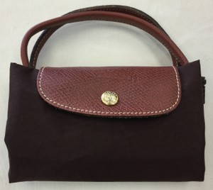 Longchamp Lepliage Handbag Tote in Dark Brown