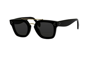 Céline CELINE CL 41077 S 807 BLACK with GOLD TRIM - NEW - FREE SHIPPING