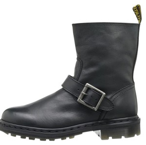 Dr. Martens Leather Durable Classic Black Boots