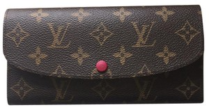 Louis Vuitton Emilie fuschia wallet