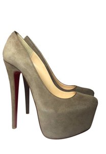 Christian Louboutin Beige grey Platforms