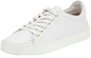 Rag & Bone Lace Up Leather Sneaker white Athletic