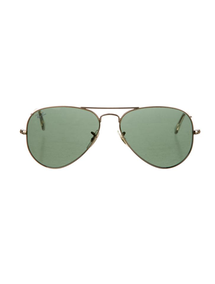 1ad5a42f2e353 Ray-Ban Gold Green Aviator Large Metal Ii Rb3026 L2846 62-14 ...