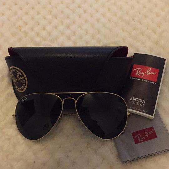 65660d7e3a Ray-Ban Gold Green Aviator Large Metal Ii Rb3026 L2846 62-14 ...