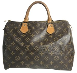 Louis Vuitton Speedy Monogram Speedy 30 Shoulder Bag