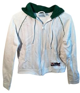 Puma White and Emerald Green Jacket