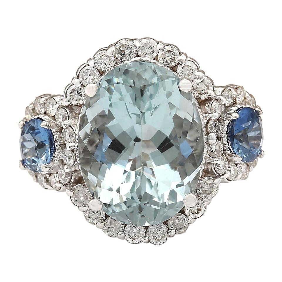 engagement philippines sale ring gold white for diamond wgaqbs aquamarine sapphire