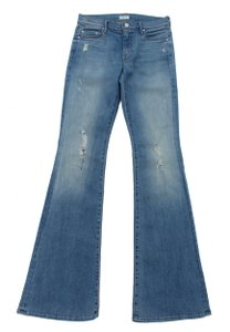 Mother The Cruiser Cliffhanger 27 Denim Flare Leg Jeans-Light Wash