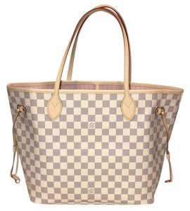Louis Vuitton Rose Rose Ballerine Neverfull Mm Neverfull Rose Neverfull Damier Tote