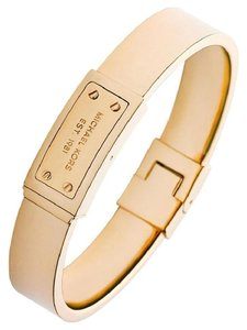 Michael Kors nwt gold logo plaque bangle MKJ2351710