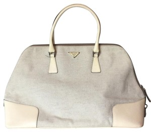 Prada Satchel in linen