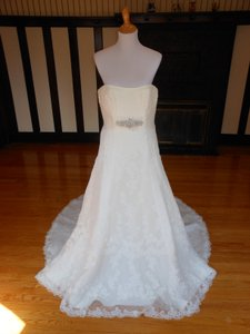 Pronovias Off White Lace Udine Destination Wedding Dress Size 18 (XL, Plus 0x)