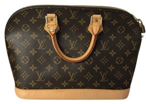 Louis Vuitton Alma Tote Satchel in Monogram