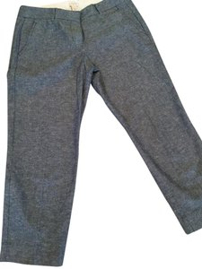 J.Crew Petite Capris Blue heathered