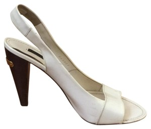 Louis Vuitton White Pumps