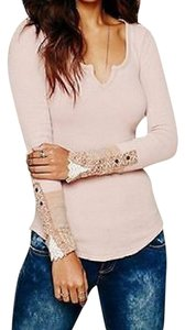 Free People Rare Thermal Crochet Kyoto Sweater