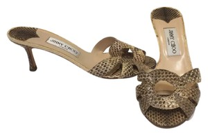 Jimmy Choo Brown beige Sandals