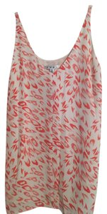 CAbi Top pink & white