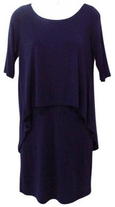 BCBGeneration short dress Navy T-shirt Comfortable on Tradesy