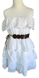 Love Culture short dress White on Tradesy