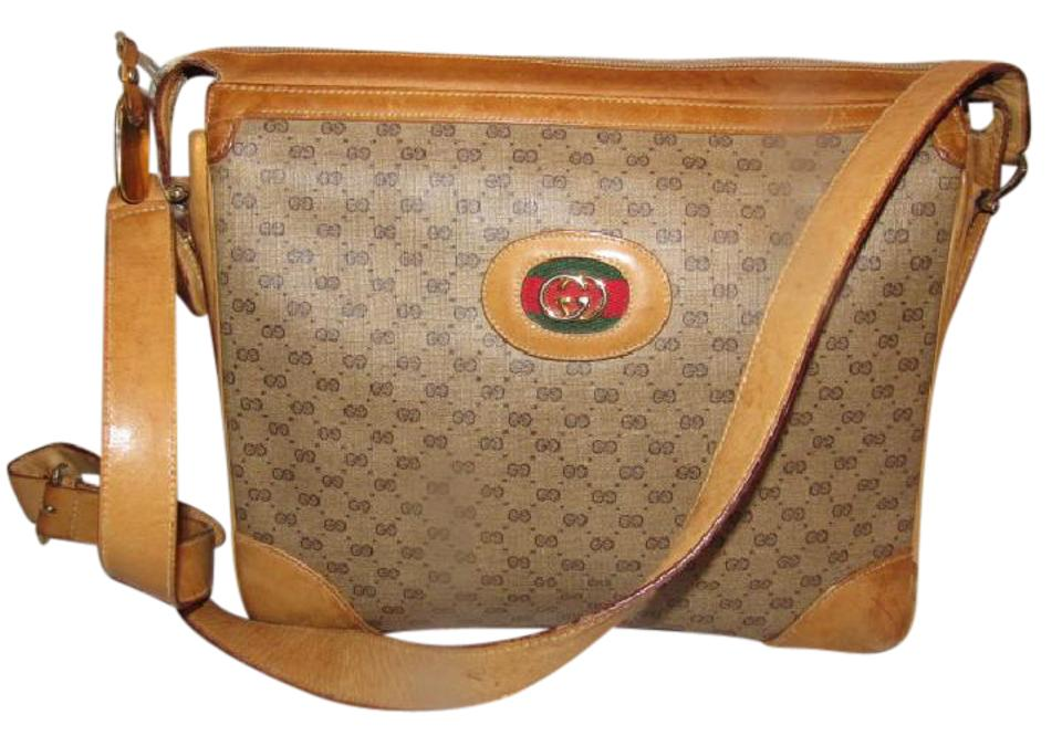 130a6a3df84 Gucci Rare Early Style High-end Bohemian Mint Vintage Great For Everyday  Multiple Compartment Hobo ...