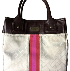 Tommy Hilfiger Tote in white-cream