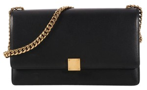 Céline Calfskin Turn Lock Flap Ce.l0320.08 Ghw Shoulder Bag