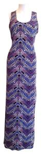 Multi colored print Maxi Dress by Hot Kiss