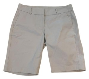 Ann Taylor Bermuda Shorts Light Gray