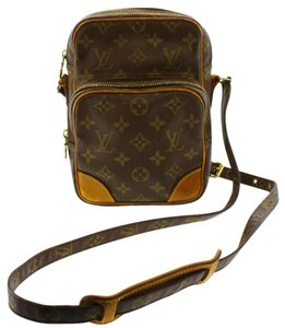 Louis Vuitton Lv Amazon Canvas Brown Shoulder Bag