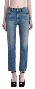 Alexander Wang Straight Leg Jeans-Light Wash
