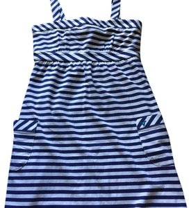 American Eagle Outfitters short dress Blue and white stripes on Tradesy
