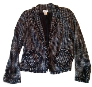 Allison Taylor Black & white Blazer