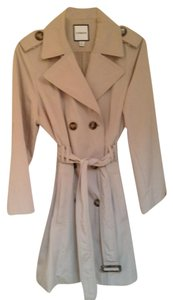 Croft & Barrow Machine Washable Belted Spring Trench Coat
