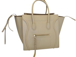 Cline Phantom Handbag Travel Tote in BEIGE