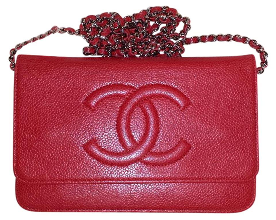 721b7e6ff Chanel Classic Flap Wallet On A Chain Woc Timeless Quilted Mini Cc ...
