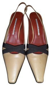 Donald J. Pliner Tan/Brown Pumps