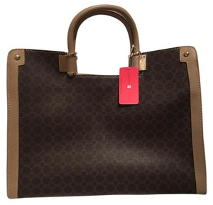 Ivanka Trump Satchel in Brown