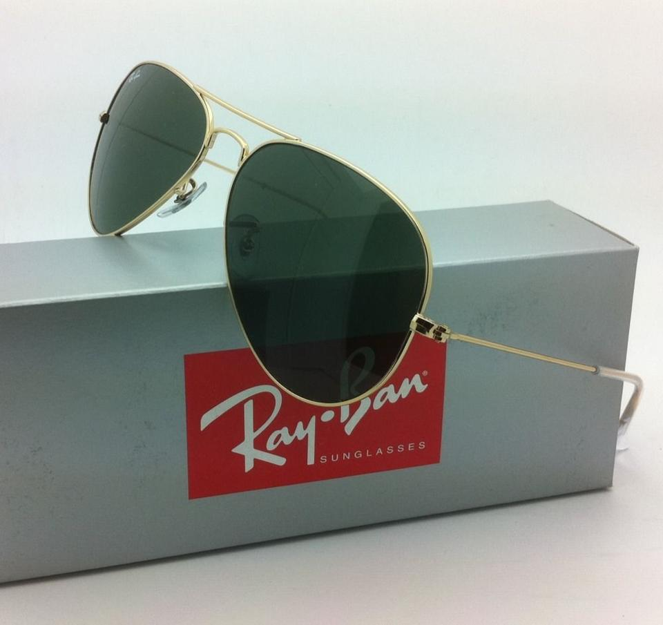 6bf045de08 Ray-Ban Rb 3025 L0205 58-14 Large Metal Gold Frames W G-15 Lenses W G-15  Sunglasses - Tradesy