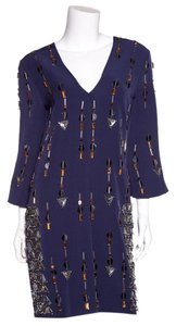 By Malene Birger short dress Navy on Tradesy