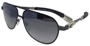Chrome Hearts CHROME HEARTS Sunglasses BLADE HUMMER II Black-Damascus Steel Aviator