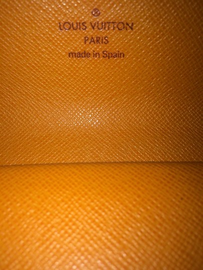 Louis Vuitton Louis Vuitton Epi Leather Orange Wallet LVTL10