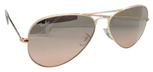 Ray-Ban Ray-Ban Sunglasses RB 3025 Large Metal 001/3E 62-14 Gold w/ Brown Pink