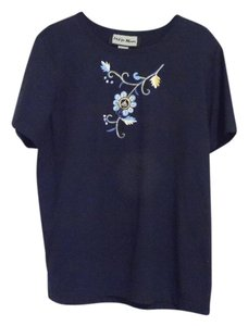 Indigo Moon T Shirt Blue