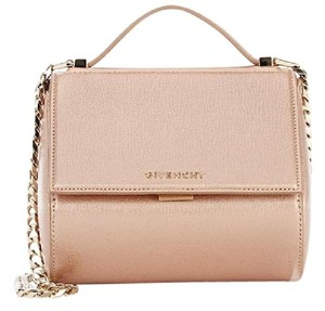 Givenchy Pandora Box Metallic Pandora Box Cross Body Bag