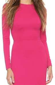 5th & Mercer NWOT Long Sleeve Fuschia Midi Dress. Dress