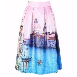 Other Skirt Pink & Blue