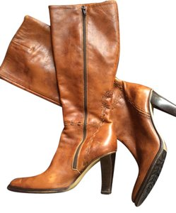 J.Crew Italian Leather Carmel Boots